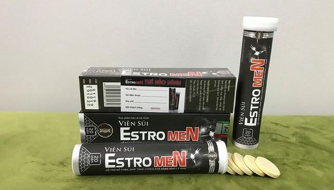 Hướng dẫn phân biệt hàng thật hàng giả với viên sủi estromen